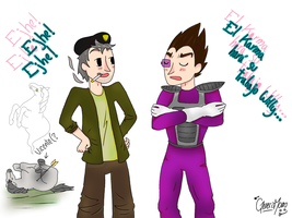 Willyrex - Vegetta777 by GenerisMomo