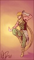 An Iron-Fist Redesign by dio-03