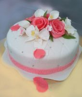 Single Wedding Cake by 6eki