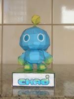 Chao papercraft by augustelos