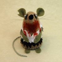 Zombie Mouse by The-House-of-Mouse