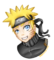 Naruto Sticker by Nonsensical-Me