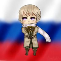 Art Trade - Chibi Russia by WooisLegit