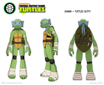 Izanami 2012 Reference sheet - Turtles team by Els-e