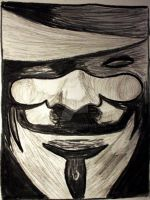 V for Vendetta by ujmaverick