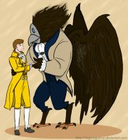 The Beauty And The Beast by SirGeorgPrime