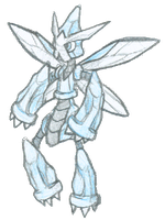 Scizor + Metagross by Veenerick