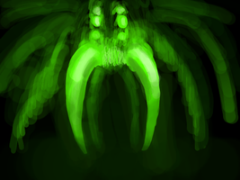 Spider- Nightvision by Lopaki