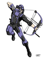 Hawkeye Redesign by jevanlee