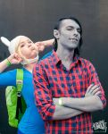 Photobomb - Fiona and Marshall Cosplay by Soylent-cosplay