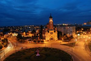 Ploiesti - night life by BHnvSTL