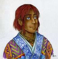 Jehan - Marker sketch by lennan