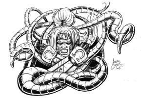 Omega Red sketch by oICEMANo