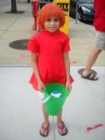 Otakon 2011- Ponyo by CraziestBlitzwing