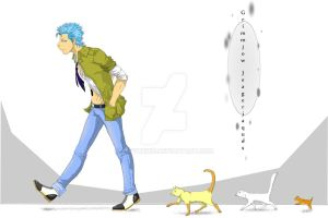 Grimmjow, Lord of Felines and Fancy Shoes by Tsoyukiku