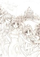 Sailor Moon Crystal Dreams by ArtTreasure