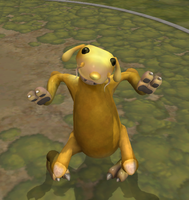 Spore Creature: Jake the Dog by SpellboundFox