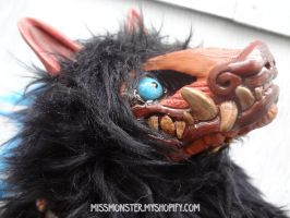 Ayo the Armacoatl doll by missmonster