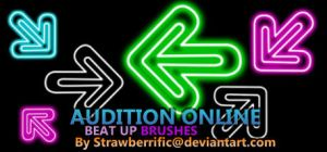Audition Online BeatUp Brushes by strawberrific