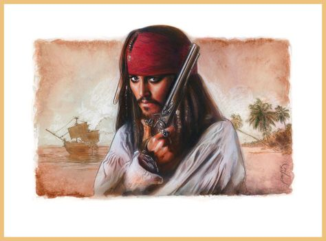 Captain Jack Sparrow by jasonpal