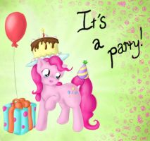 Pinkie Pie Party by SpectralPony