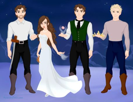 Princess and Three Suitors (DMD May Contest) by Sonicgirl141