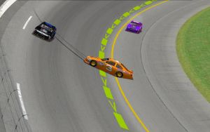 NASCARY - Coke Zero 400 - Accident on turn 1 by Dorothy64116