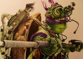 DONATELLO TMNT MOVIE 2014 by ARTIEFISHEL79