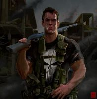 Punisher was here by IttoOgamy