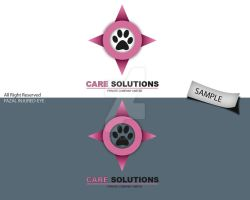 care solutions logo sample 2 by injured-eye
