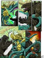Godzilla: Kings and Brothers, Page #12 by kaijukid