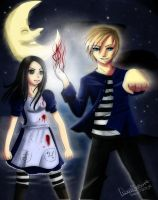Pewdiepie and Alice by Saviroosje