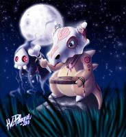 Shaman Cubone with Duskull by Volvom