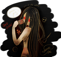 Voodoo Circus Lady by Chrys-o-prase