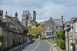 Corfe Castle, Purbeck by Irondoors