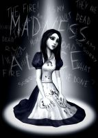 Alone in this madness by BloodyNyan