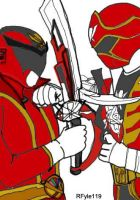 Gokaiger (Fake)  vs Gokaiger by RFyle119