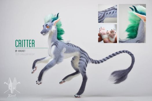 [AT] Critter by ZimtBeadwork