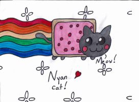 Nyan Cat by pokelover586