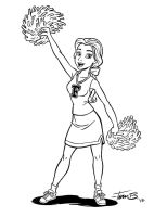 Cheer Belle_inks by tombancroft