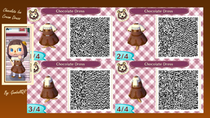 Chocolate Ice Cream Dress by GumballQR