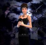 The Raven Queen by Gina-Marie