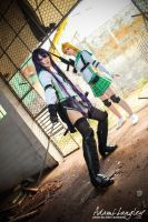 Rei Miyamoto and Saeko Busujima cosplay by adami-langley