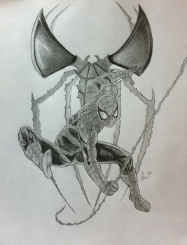 The Spider-Man by ms24khan