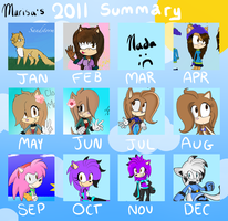 2011 Summary of Art by ClassicMarcy
