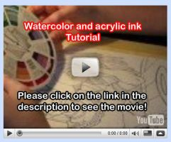 Watercolor Tutorial Video 11 by lady-cybercat