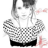 Lily Allen by Basaran00
