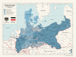 Alternate North German Confederation by Arminius1871
