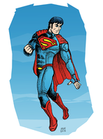 Superman - New Power by herrenmedia