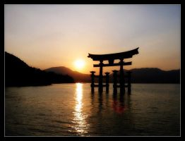 sunset-hiroshima by syncore